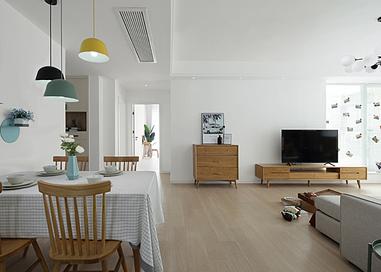 北欧-莱茵东郡-两室两厅-120平米