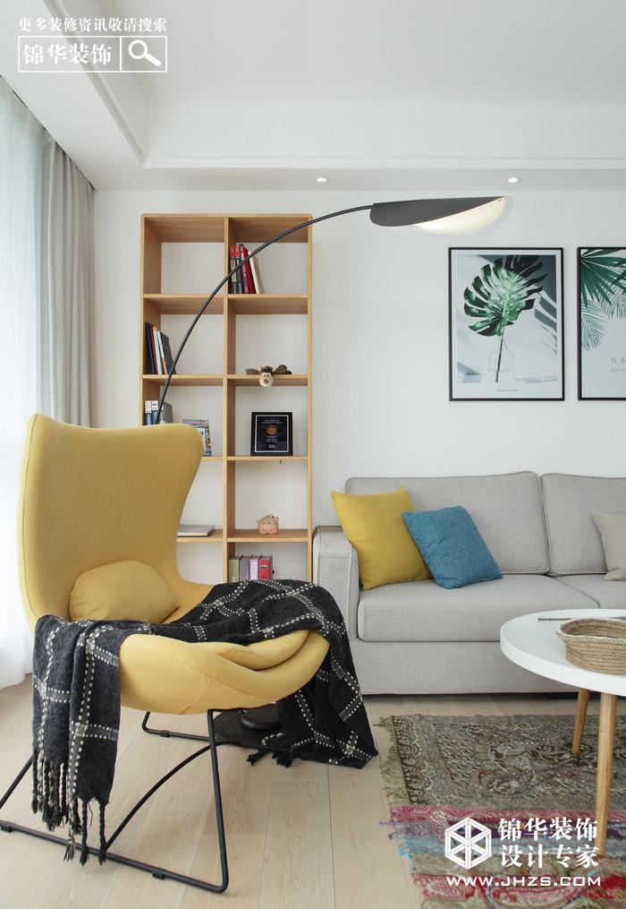 北歐-萊茵東郡-兩室兩廳-120平米裝修-兩室兩廳-北歐