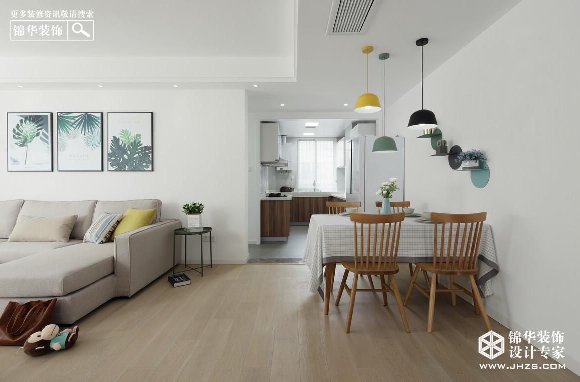 北欧-莱茵东郡-两室两厅-120平米装修-两室两厅-北欧