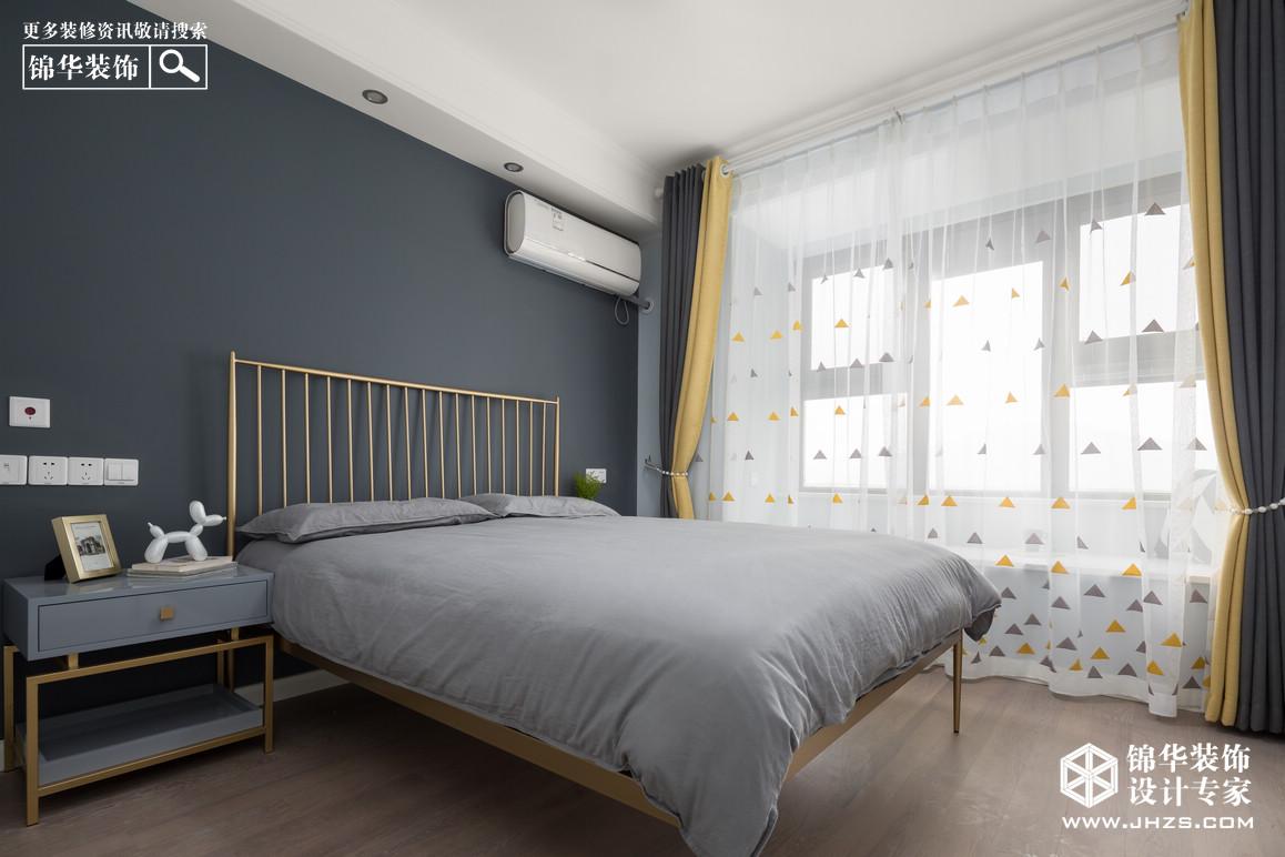 北欧-万达茂御湖世家-两室两厅-98平米装修-两室两厅-北欧