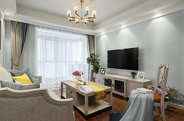 简美-世茂荣里-两室两厅-89平米