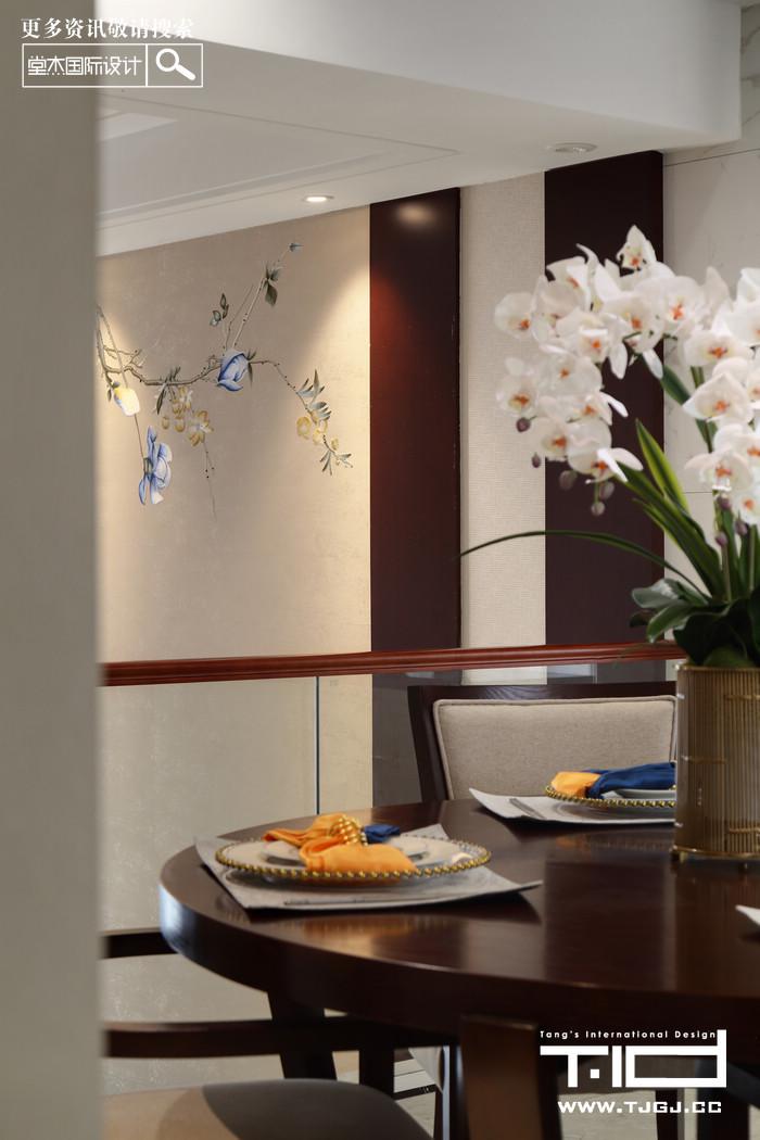 新中式-瑞景文华-别墅-320平米装修-别墅-新中式