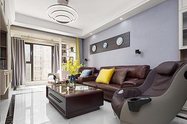 现代简约-中粮鸿云-两室两厅-100平米