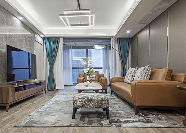 现代简约-紫晶未来城-三室两厅-118平米