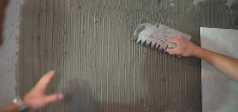 玻化砖的铺贴是如何进行的?