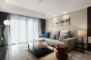 现代简约-星叶瑜憬湾-三室两厅-116平米