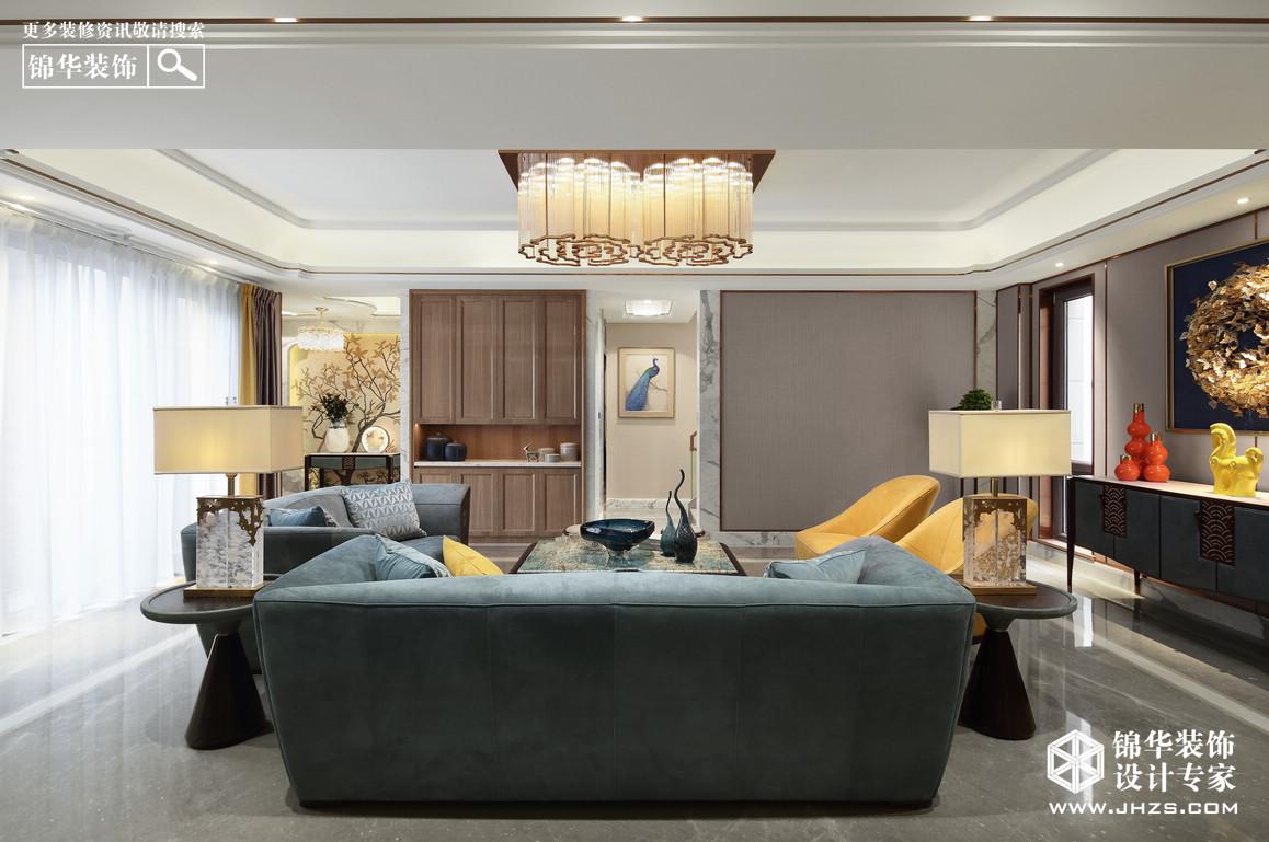 新中式-南京院子-别墅-680平米装修-大户型-新中式