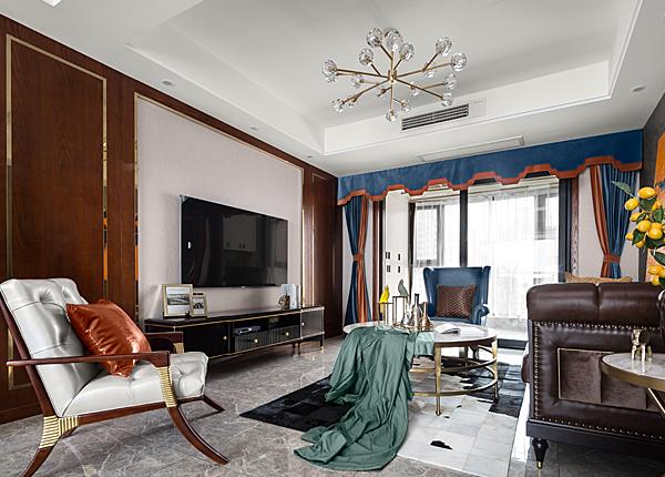 雅居樂-140平米三室兩廳-混搭
