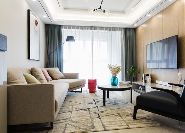 現代簡約-四季金輝-兩室一廳-90平米