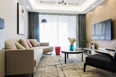 现代简约-四季金辉-两室一厅-90平米