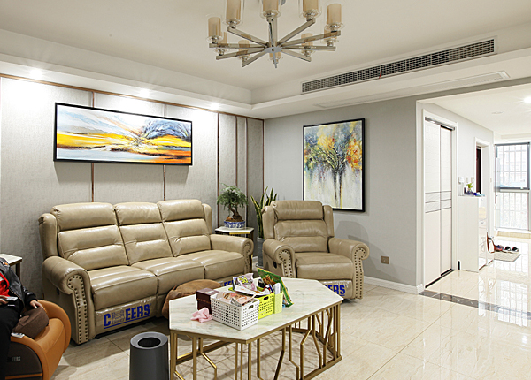 现代简约-恒安嘉园-四室两厅-168平米