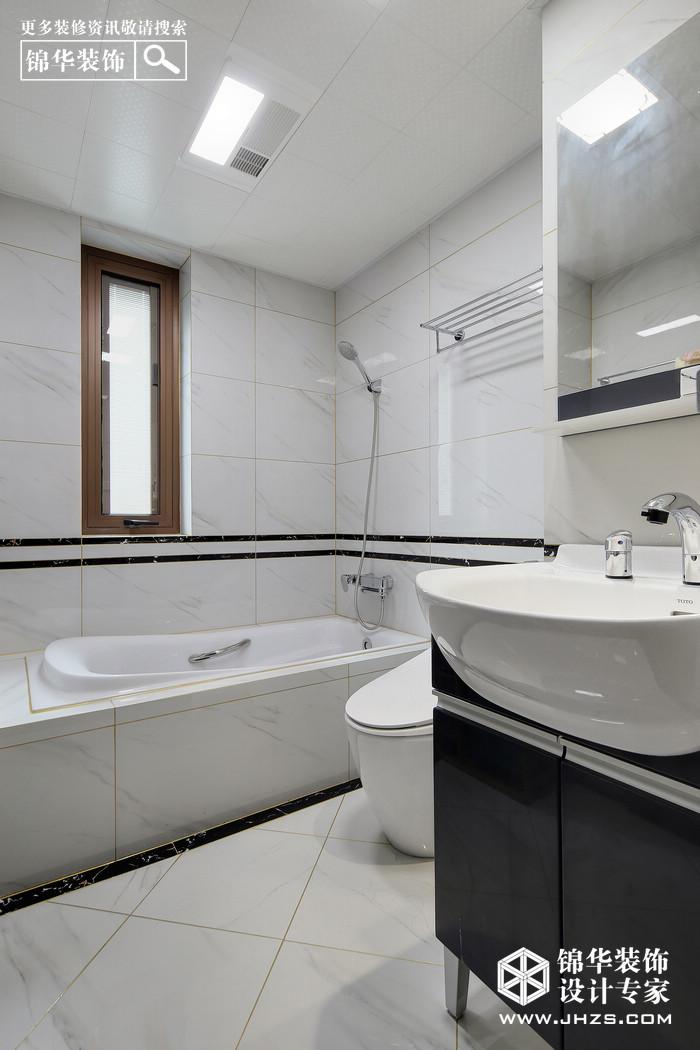 新中式-锦绣华府-三室两厅-125平米装修-三室两厅-新中式