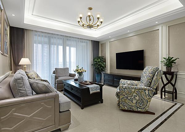 简美-雅居乐滨江国际-四室两厅-139平米