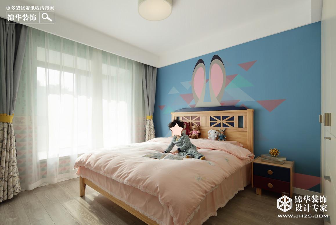 现代简约-弘阳·爱上花园-三室两厅-118平米装修-三室两厅-现代简约