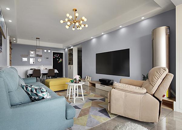 北歐-雅居樂濱江國際-三室兩廳-138平米