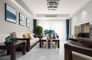 现代简约-紫气路小区-两室两厅-90平米