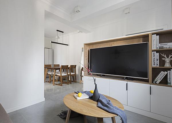 北歐-唱經樓小區-兩室一廳-55平米