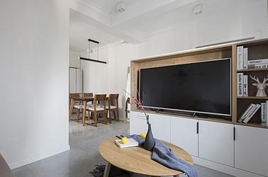 北欧-唱经楼小区-两室一厅-55平米