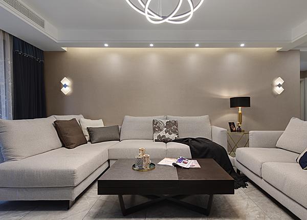 现代简约-朗诗熙园-三室两厅-147平米
