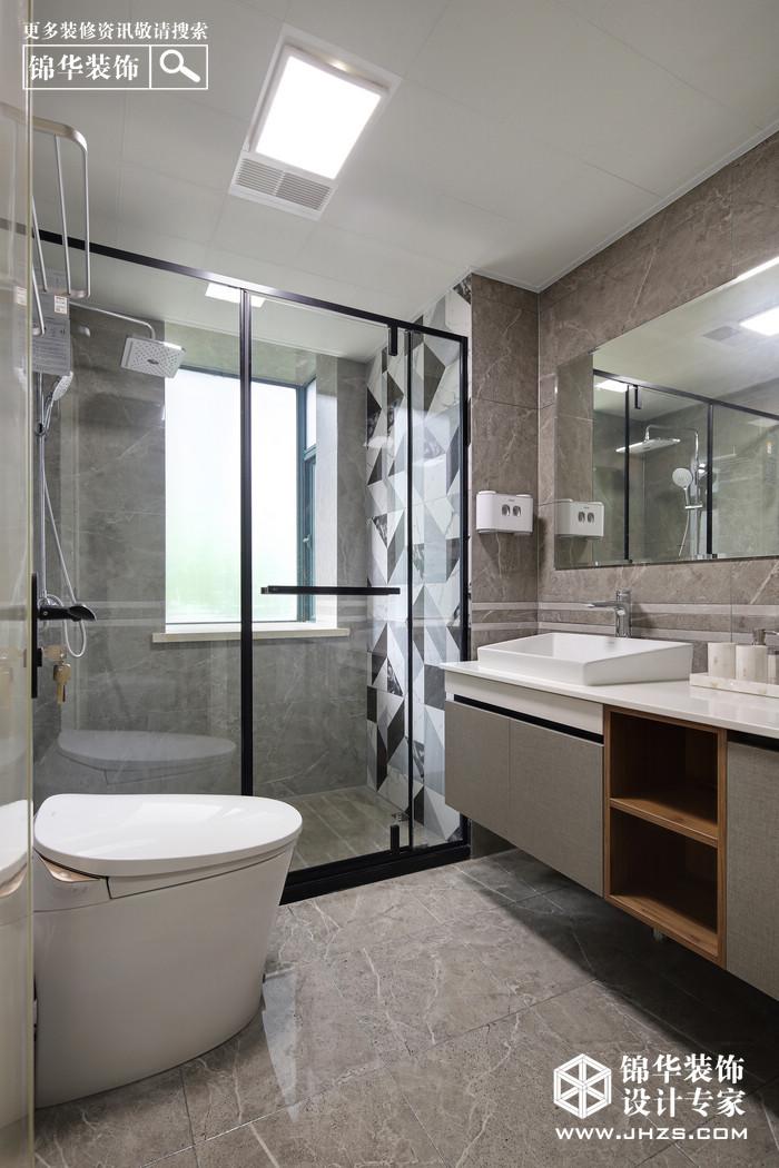 现代简约-朗诗熙园-三室两厅-147平米装修-三室两厅-现代简约