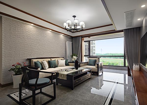 新中式-融僑觀邸-三室兩廳-144平米