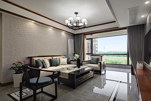 新中式-融侨观邸-三室两厅-144平米