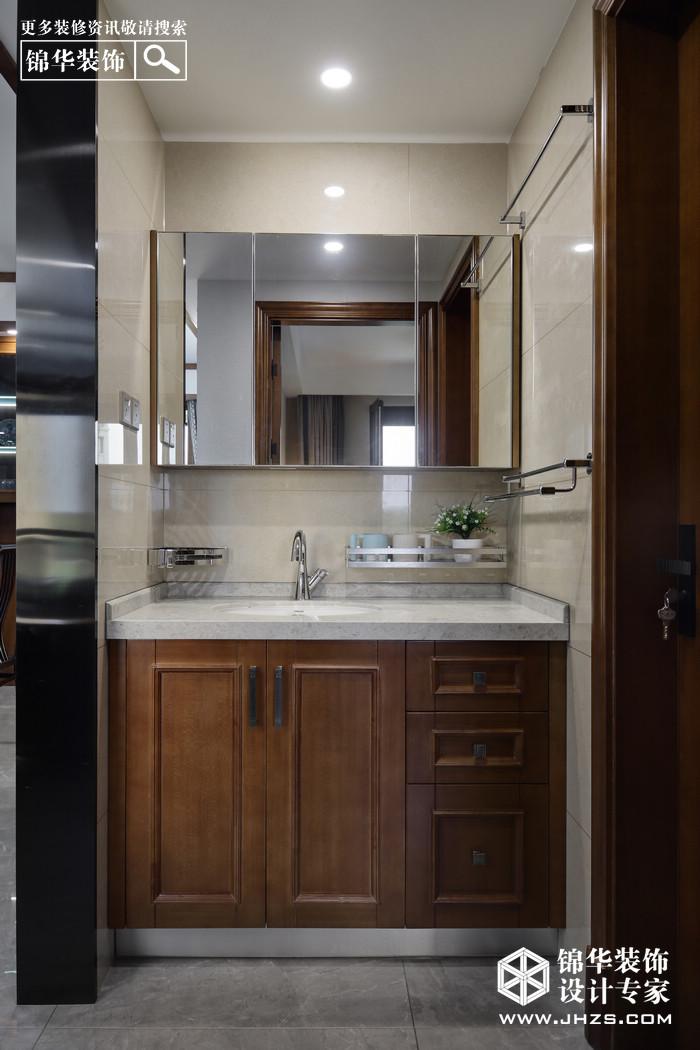 新中式-融僑觀邸-三室兩廳-144平米裝修-三室兩廳-新中式