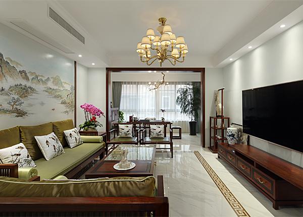 新中式-文博苑-四室两厅-260平米