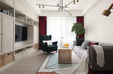 北欧-边城世家-三室两厅-100平米