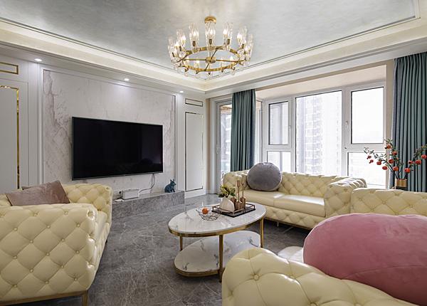 西堤國際--140平米四室兩廳-現代簡約