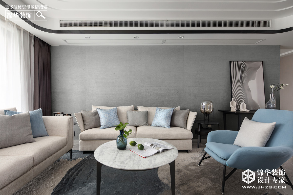 尚诚华府-160平米-现代简约装修-四室两厅-现代简约