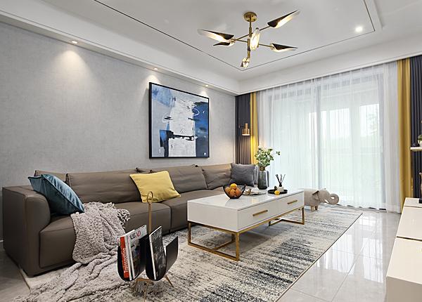 現代簡約-萬江共和新城-兩室兩廳-100平米
