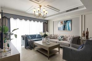 简美-蔚蓝雅居-四室两厅-180平米