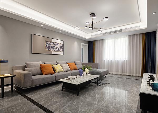現代簡約-龍池新寓-三室一廳-120平米
