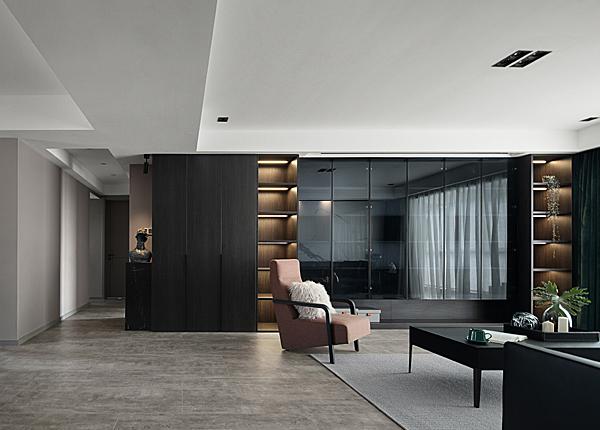 現代簡約-尚誠華府-三室兩廳-126平米