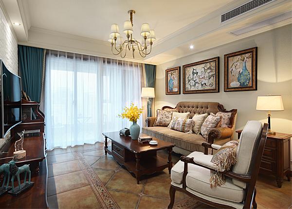 简美-中海中际社区-三室两厅-119平米