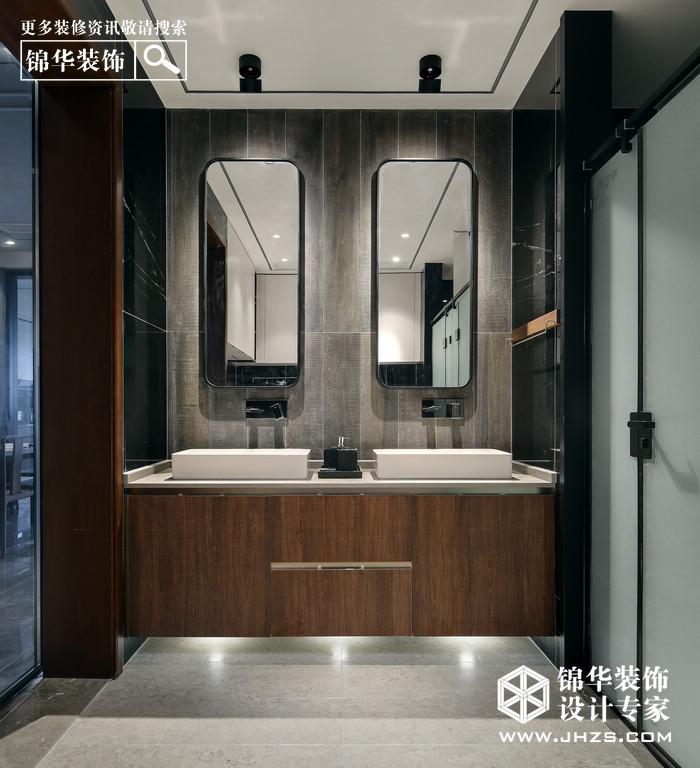 新中式-滟紫台-大户型-185平米ope体育专业-大户型-新中式