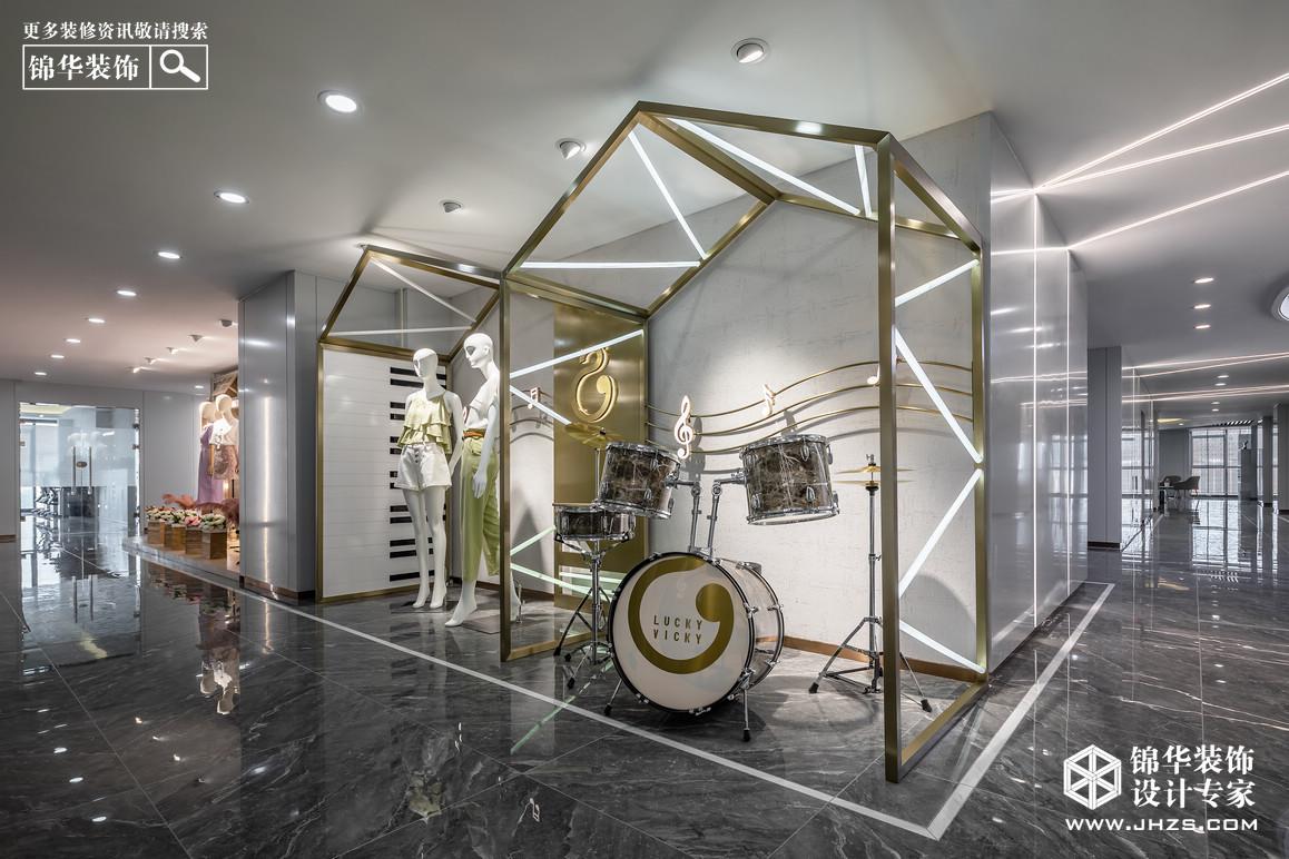 现代简约-南京森林鸟-工装-1400平米装修-大户型-现代简约