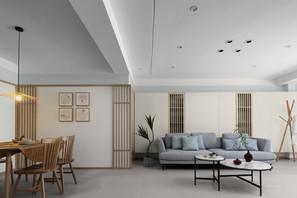 日式风格-糖坊廊-三室两厅-160平米