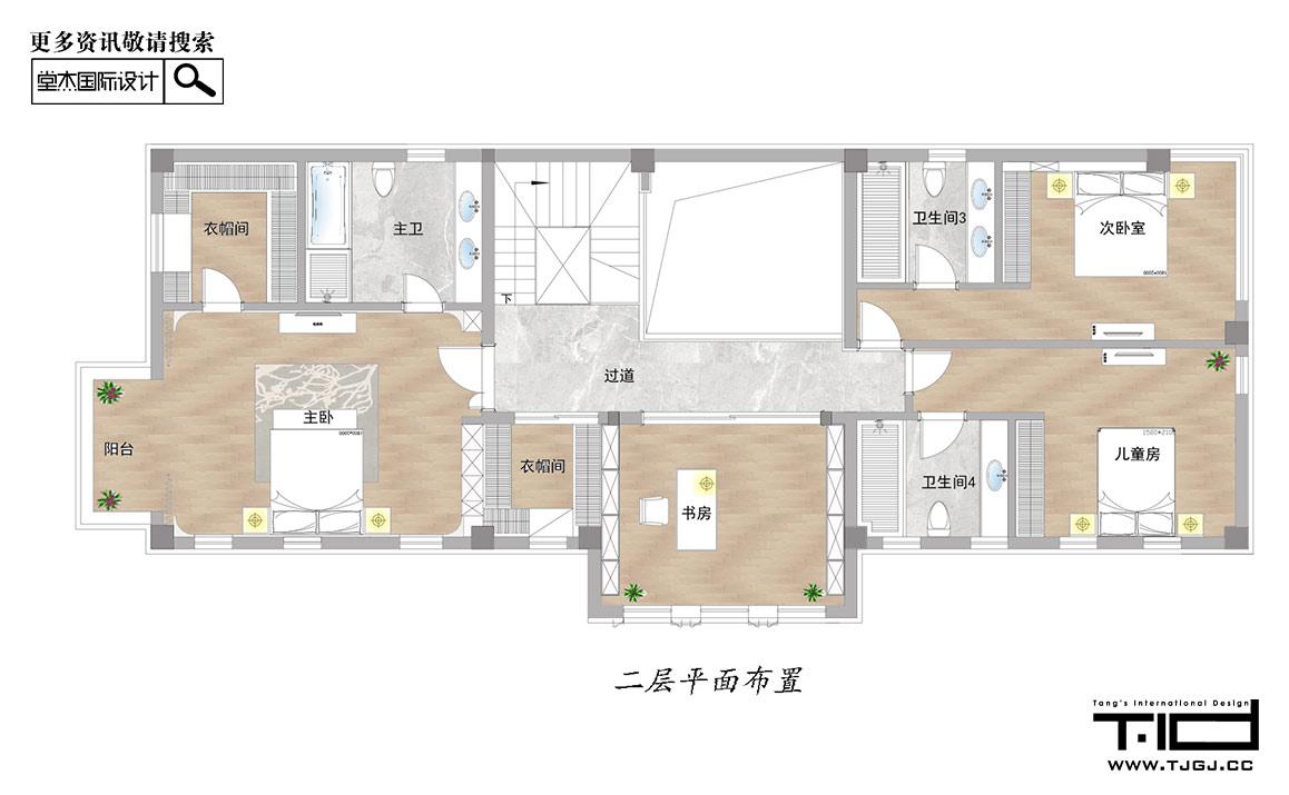 现代简约-复地朗香-别墅-600平米ope体育专业-别墅-现代简约