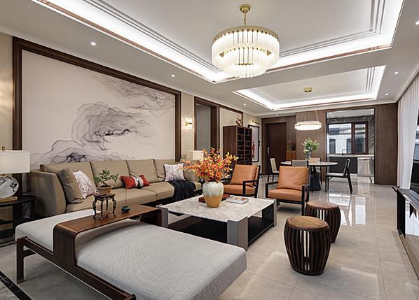 新中式-東方玉園-大平層-218平米