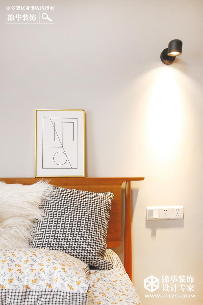 北欧-莱蒙水榭阳光-两室两厅-75平米装修-两室两厅-北欧