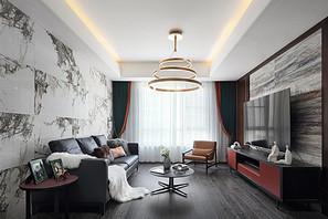 现代简约-仁恒江湾城-三室两厅-150平米
