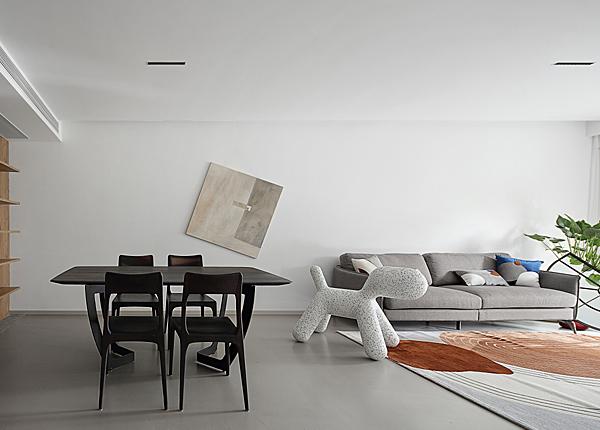 現代簡約-閱城國際-三室兩廳-120平米