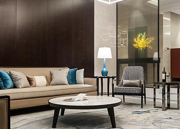 現代簡約-雅居樂濱江國際-四室兩廳-320平米