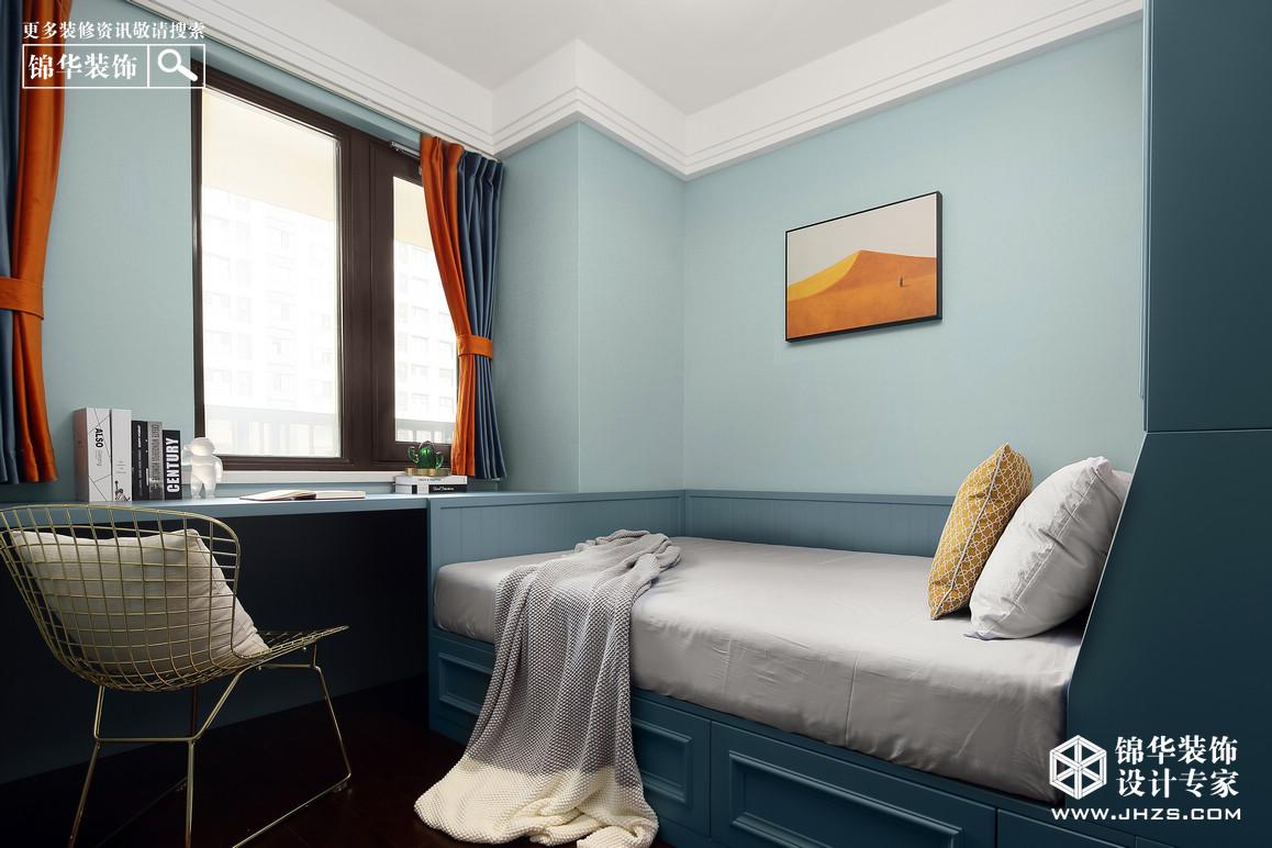 北歐-萬科翡翠花園-三室兩廳-90平米裝修-三室兩廳-北歐