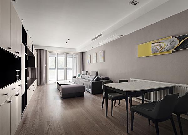 現代簡約-上林苑-三室兩廳-140平米
