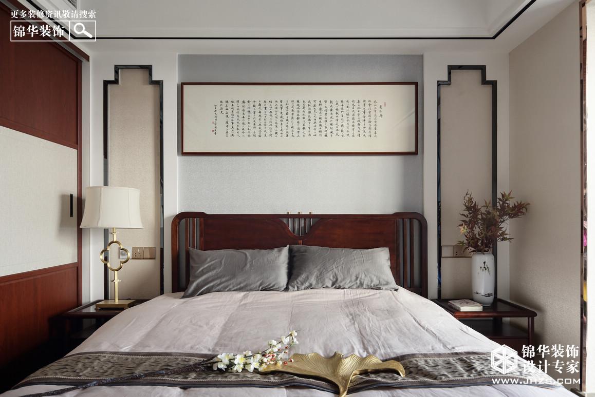 新中式-鸿意星城-跃层复式-150平米装修-跃层复式-新中式