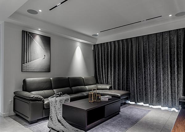 现代简约-海赋尚城-三室两厅-142平米