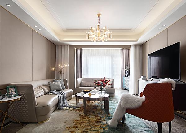 现代轻奢-金隅紫金府-四室两厅-180平米